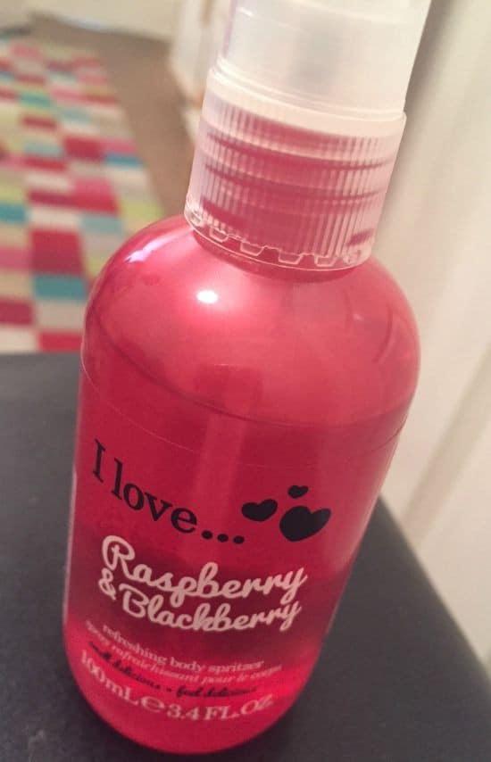 Lovely smelling body spritzer from Primark.