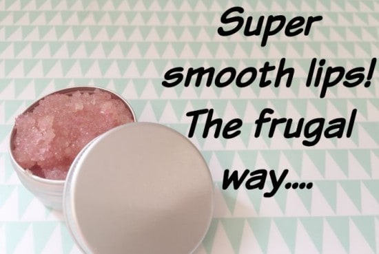 Super smooth lips - the frugal way....