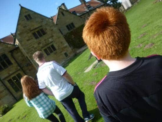 A great day out at Mount Grace Priory today