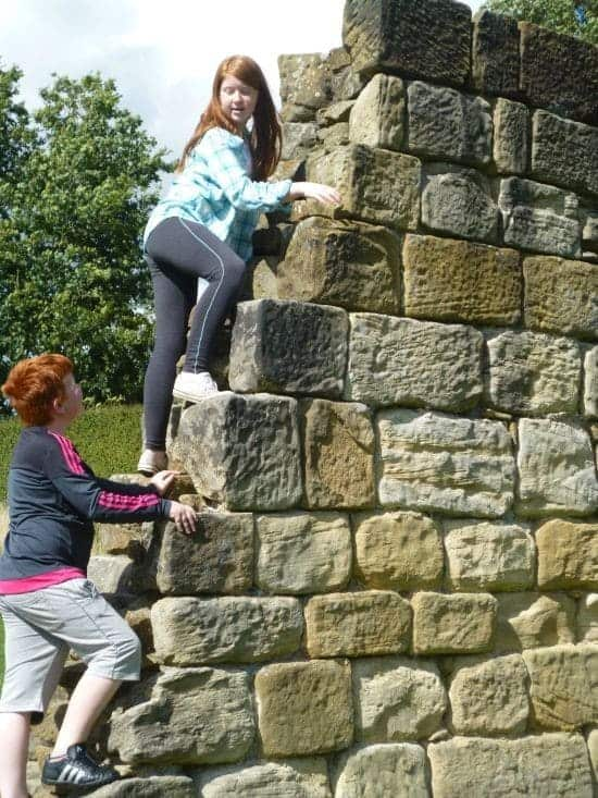 A great day out at Mount Grace Priory..