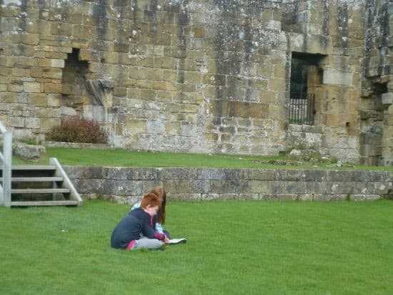 A great day out at Mount Grace Priory....