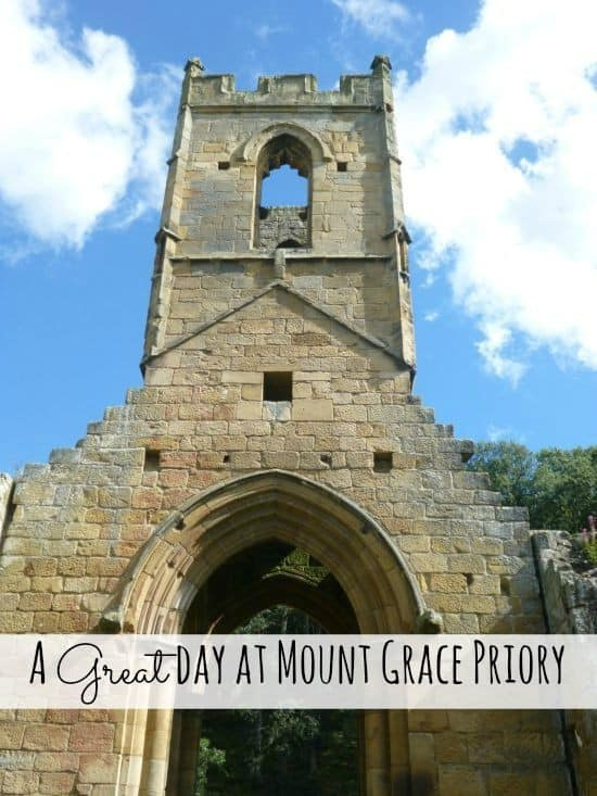 A great day out at Mount Grace Priory.....