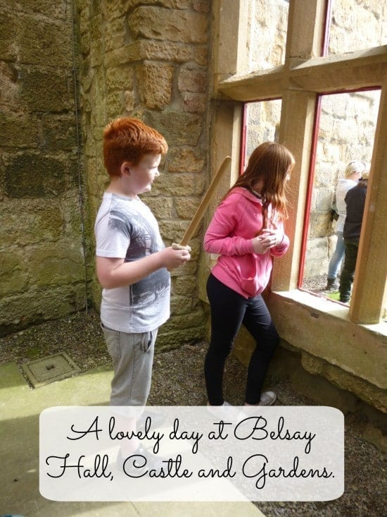 A lovely day at Belsay Hall, Castle and Gardens