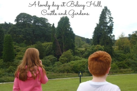 A lovely day at Belsay Hall, Castle and Gardens.