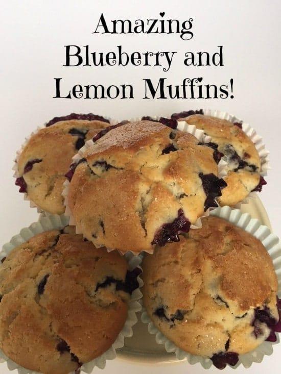Amazing Blueberry and Lemon Muffins..