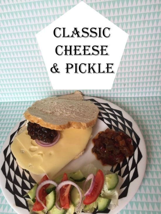 Classic Cheese & Pickle Sandwich