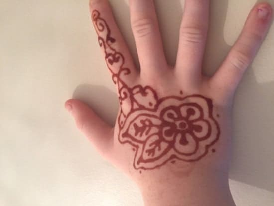 You go to bed one night and wake up to find a Henna tattoo has appeared on your daughter's hand.
