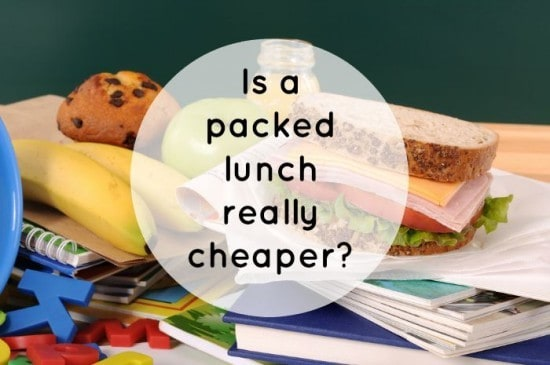 Is a packed lunch really cheaper