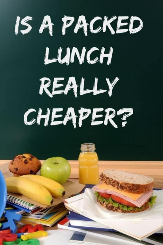 Is a packed lunch really cheaper!