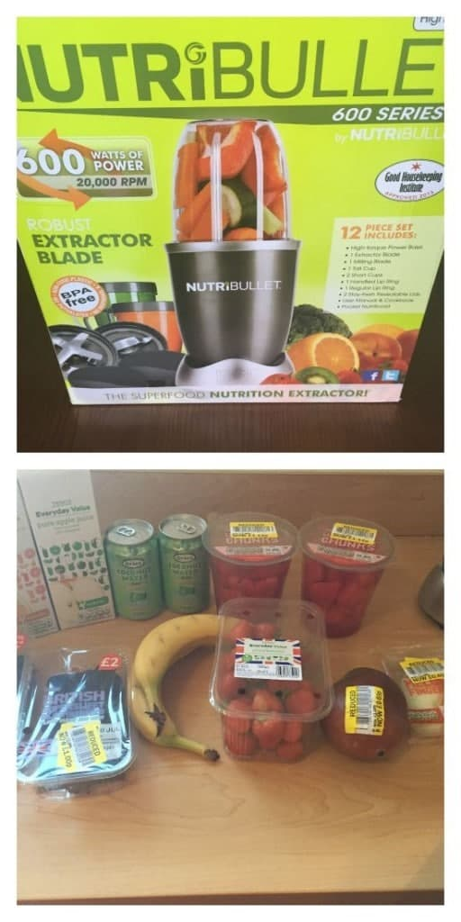 Nutribullet and reduced price fruit haul