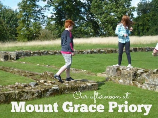 Our afternoon at Mount Grace Priory