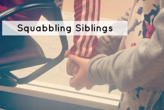 Squabbling siblings