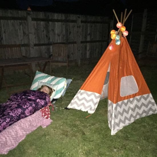 attempted sleep out