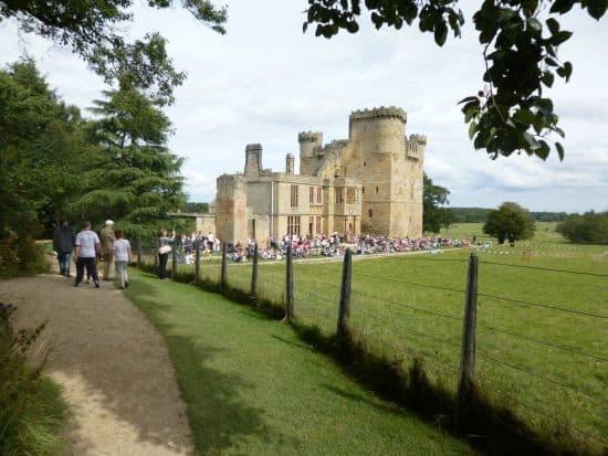 belsay castle...