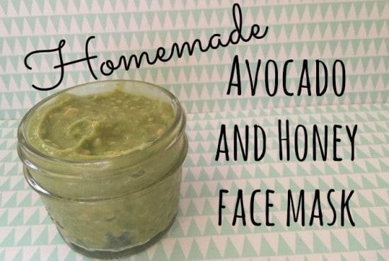 DIY Avocado and Honey face mask