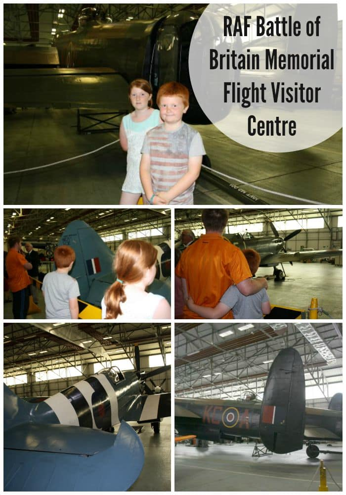 Days out RAF Battle of Britain Memorial Flight Visitor Centre....