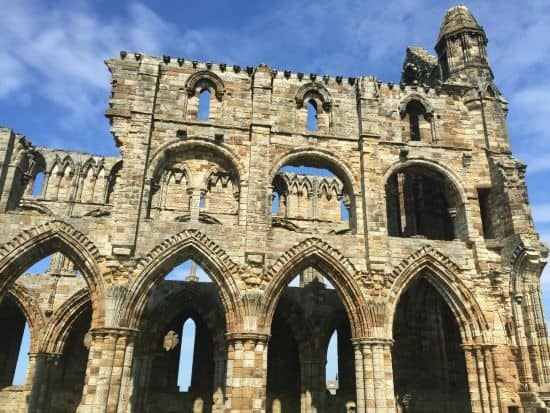 beautiful Whitby Abbey