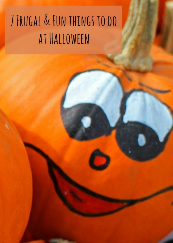 7 Frugal & Fun things to do at Halloween!