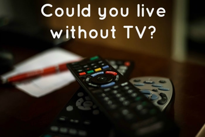 Could you live without TV...