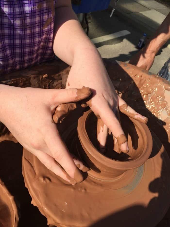 Festival of Thrift - pottery 1