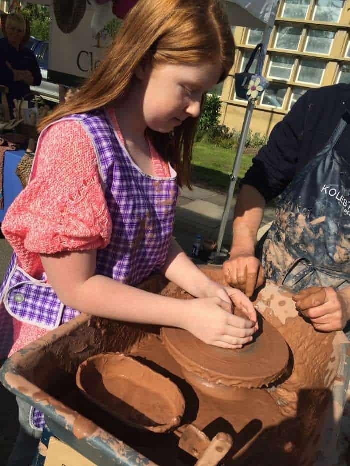 Festival of Thrift - pottery