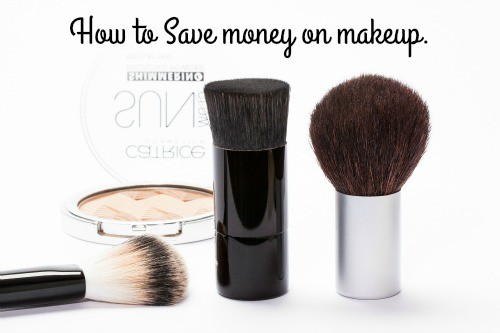 How to Save money on makeup.