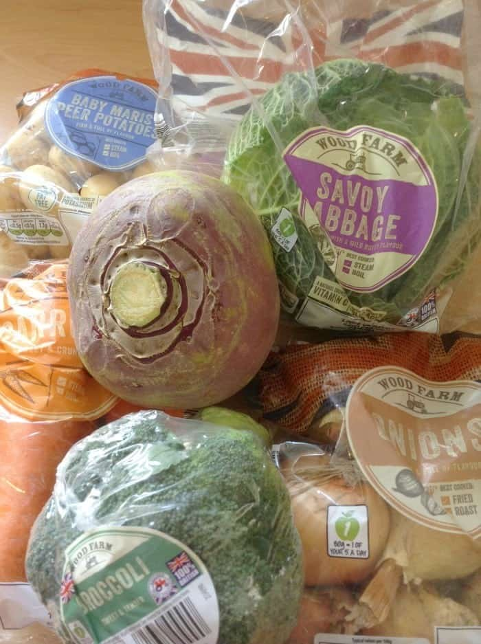 This week's fruit and veg