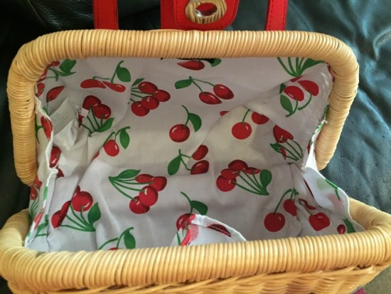 inside of Next handbag