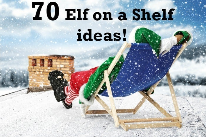 70 elf on a shelf ideas