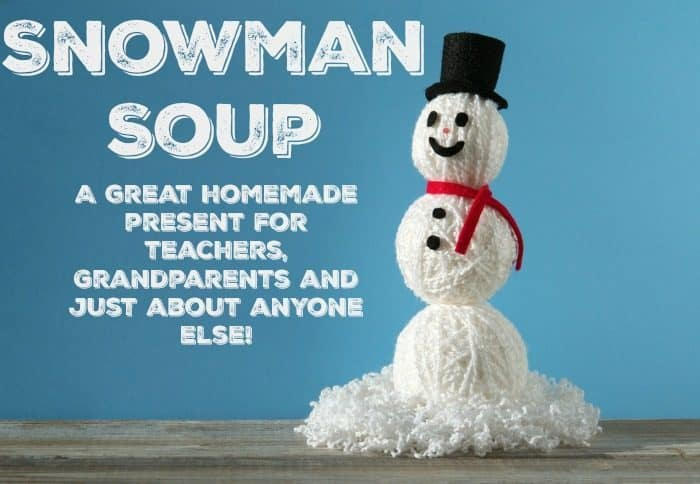 A great homemade present for teachers, Grandparents and just about anyone else!