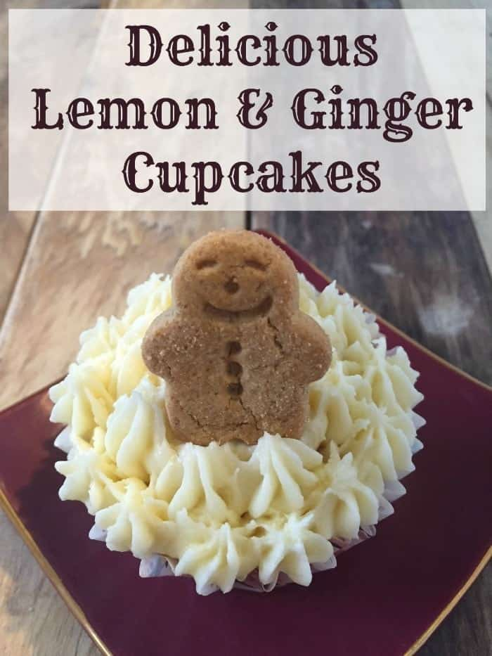 Delicious Lemon and Ginger Cupcakes