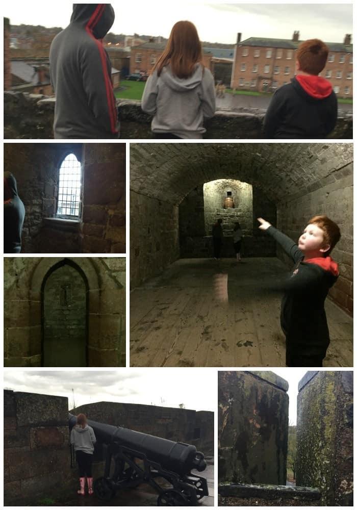 Exploring Carlisle Castle
