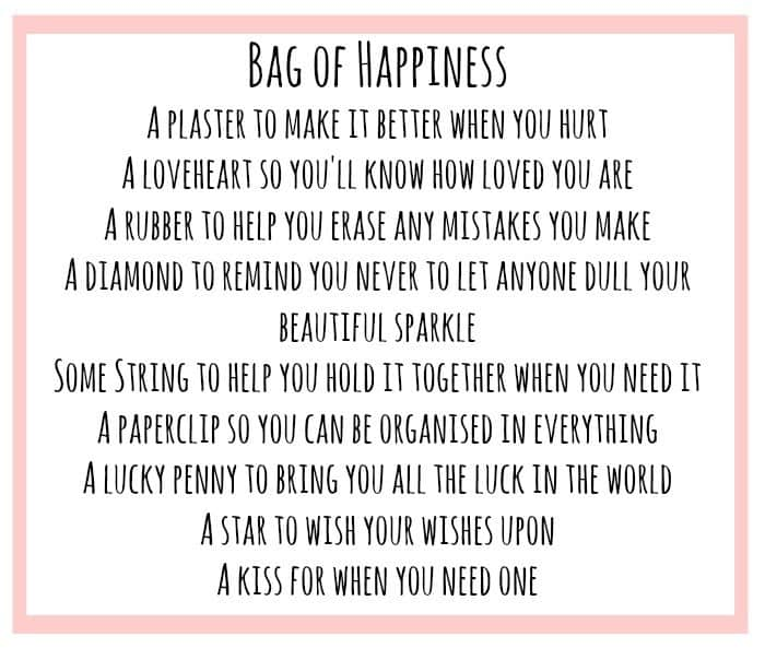Homemade Bag of Happiness