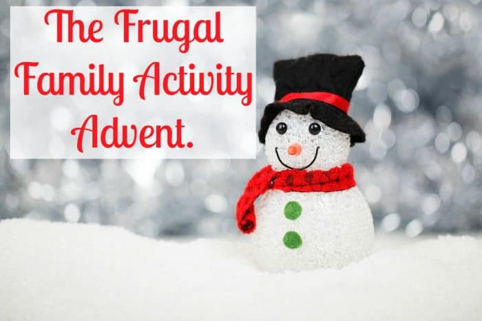The Frugal Family Activity Advent