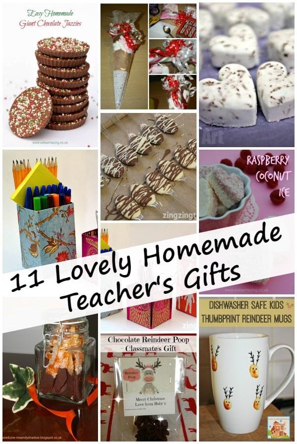 11 Lovely Homemade Teacher's Gifts