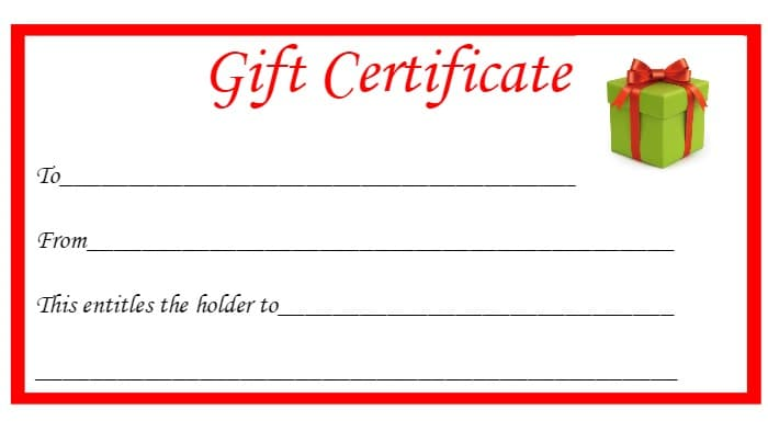 Free Christmas Printable Gift Certificates.... - The Diary of a Frugal ...