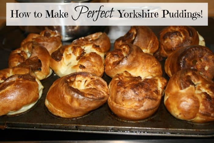 How to Make PERFECT Yorkshire Puddings!