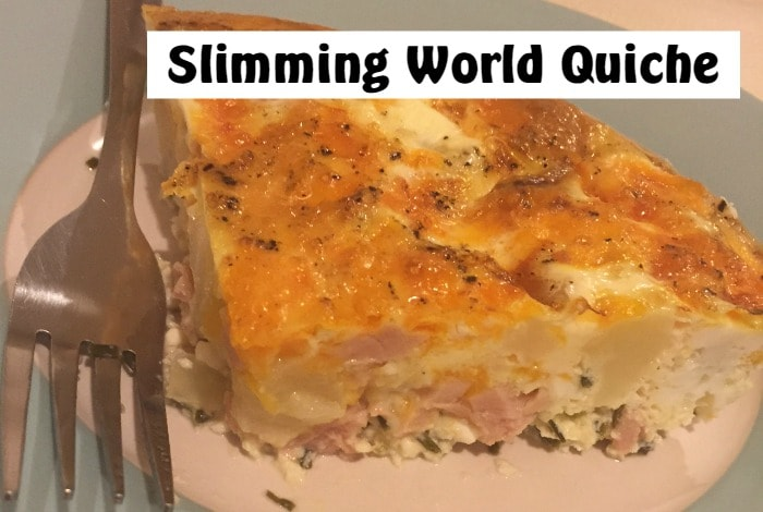 Slimming world quiche tasty cheap and syn free the diary of a frugal family I love slimming world