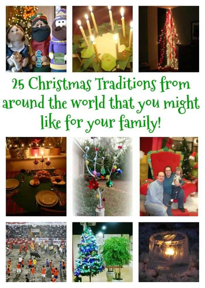 Christmas Traditions from around the World....