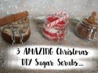 3 AMAZING Christmas DIY Sugar Scrubs....