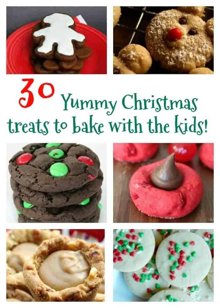 30 Yummy Christmas treats to make with the kids....