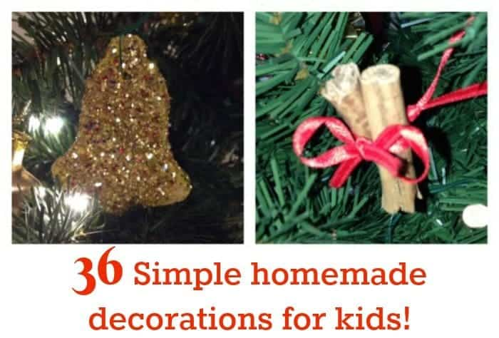 36 Simple homemade decorations for kids!