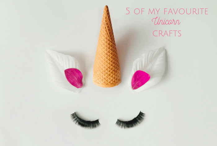 Five of my favourite super cute unicorn crafts.