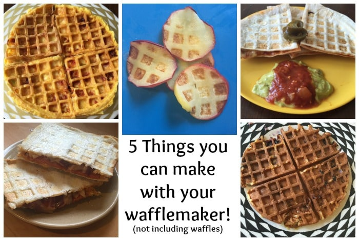 5 things you can make with your wafflemaker (not including waffles)....
