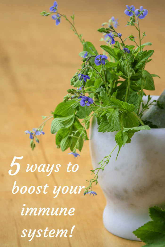 5 ways to boost your immune system!