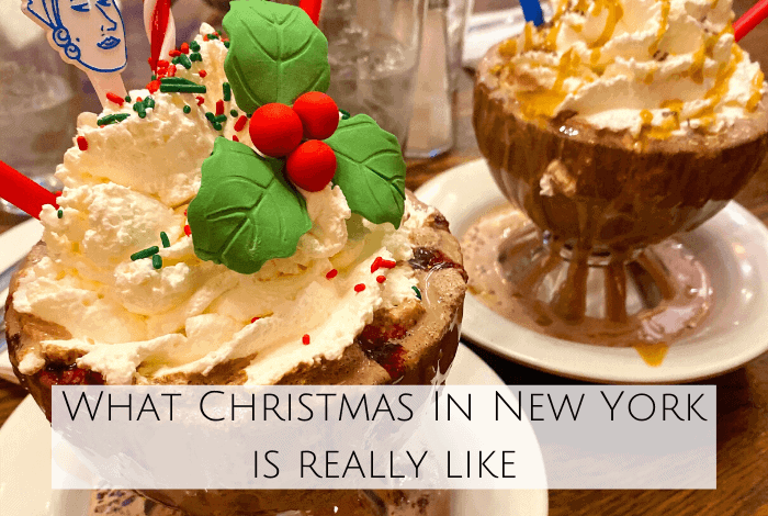 What Christmas in New York is really like.