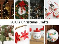 50 DIY Christmas Crafts....