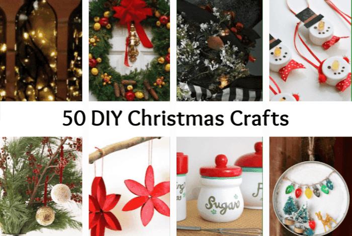 50 DIY Christmas Crafts!