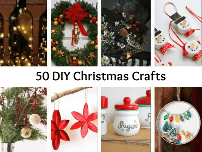 50 Diy Christmas Crafts The Diary Of A Frugal Family