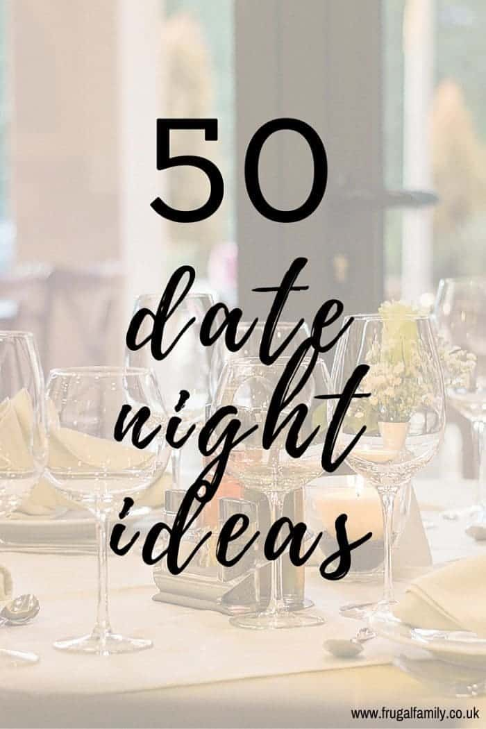 50 Date Night Ideas